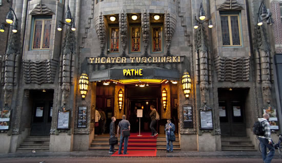 Front of the Tuschinski Theatre